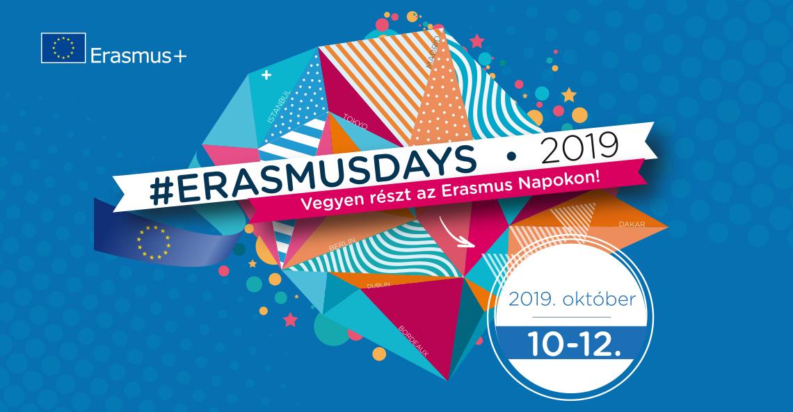 2019 - Három napig minden az Erasmus Napokról szólt